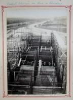 62 - Grande Photo 230 X 165 - CENTRALE ELECTRIQUE DES MINES DE COURRIERES - Chaufferie- Silos D'alimentation 27/8/1922 - Places