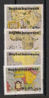 Bophuthatswana - 1993 - N°Yv. 303 à 306 - Old Maps - Neuf Luxe ** / MNH / Postfrisch - Bophuthatswana