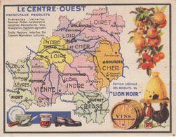 REGION / LE CENTRE OUEST - Landkarten
