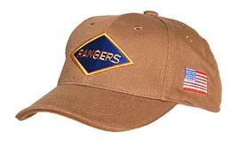 Casquette Beige RANGERS 2nd Battalion Pointe Du Hoc Omaha Utah D DAY JEEP Cap - Copricapi