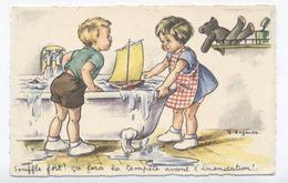 STYLE GERMAINE BOURET  DE J.LAGARDE  SOUFFLE  -RECTO/VERSO-B25 - Bouret, Germaine