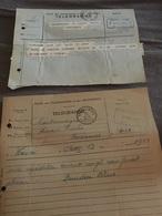 FARCIENNES - AISEAU - Charbonnages - Lot De 11 Télégrammes A Voir - Telegraph