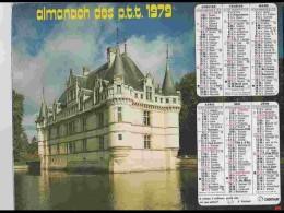 CAL764  CALENDRIER  ANNEE 1979 .CHENONCEAUX  Et TANLAY  YONNE .2 Volets. Voir Photos Feuillets..AISNE  Almanach - Calendars