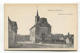 Église De Fouilloy (80, Somme) - CPA - France