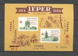 E 101 VISIT OF THE QUEEN OF ENGLAND IEPER 1966  BLOK  POSTFRIS** - Commemorative Labels