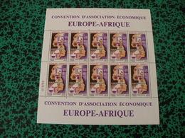 Feuille Neuf Poste Aérienne - Gabon - Europe-Afrique - 50F CFA - Gabon (1960-...)