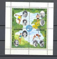 E 127 ATLETIEK BLOK POSTFRIS**  1973 - Commemorative Labels