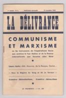 1936 : FRONT POPULAIRE : LA DELIVRANCE - N° 2 : COMMUNISME ET MARXISME . - Livres, BD, Revues