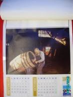 CAL1    PO589    CALENDRIER. .1978   PIPIER  ( Fait Des Pipes) TONNELIER  COUTELIER  VANNIER TISSERANDE  46 X 38 - Calendars