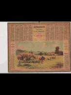 CAL346   ALMANACH  De  1940  .RENTREE  DES  FOINS   +  Puy De Dome - Calendars