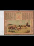 CAL349  ALMANACH  De  1940  .RENTREE DES  FOINS    Signé   +  Puy De Dome - Calendars