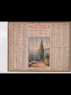 CAL351  ALMANACH  De  1940  .CAP  D ' AIL  MONACO.      Signé  RALLE  +  . - Calendars