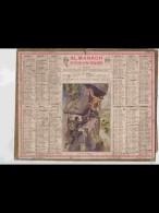 CAL358    ALMANACH  De  1940.     C.HASSE  AUX  CHAMOIS     +. Nord Lille - Calendars