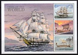 B0515  ANTIGUA & BARBUDA 1998,  SG 2679-81  Ships Of The World,  MNH - Antigua And Barbuda (1981-...)
