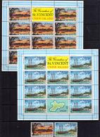 E0092 GRENADINES OF ST VINCENT 1976, SG 74 & 77  Union Island Scenes,  MNH - St.Vincent & Grenadines