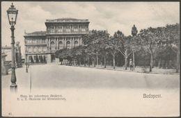 Magyar Kir. Tudományos Akadémiá, Budapest, C.1905 - U/B Levelezőlap - Hungary