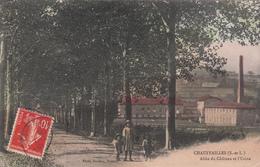 71 - CHAUFFAILLES - Allée Du Château Et L'Usine - France