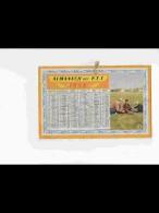 CAL457  ALMANACH  ANNEE  1956  .AVION  MODELISME  + ENFANTS  .au Verso Fillette Bain .Calendrier  Demi Format.. +  .. - Calendars