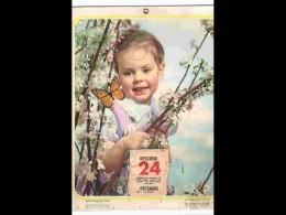 CAL1 - 057  CALENDRIER  1949  GARCON AU PAPILLON . PUBLICITE  DEDEYSTERE FOURMIES. .environ 27 X 21 - Calendars