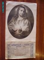 CAL1    P0372  . APOSTOLAT DE LA PRIERE  1935  CHRIST  RELIGION 32 X 18   Imp : Toulouse - Calendars
