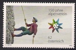 2012  Austria  Mi. MH 2974  **MNH  150 Jahre Österr. Alpenverein - 1945-.... 2nd Republic