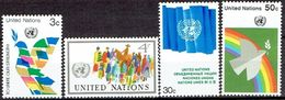 UNITED NATIONS # NEW YORK FROM 1976 STAMPWORLD 289-92* - New York -  VN Hauptquartier