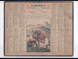 CAL220   ALMANACH DE 1923...ALPINISTES  FEMME - Calendars