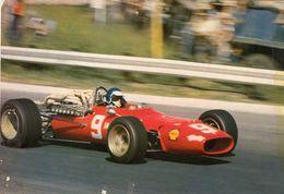 Jackie Ickx  -  Ferrari 312 1966  -  Carte Postale - Grand Prix / F1