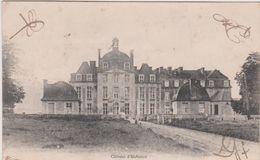 Calvados : Thury    HARCOURT   ,  Le  Château   Vu Route De  Caen - Thury Harcourt