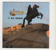 Alt1042 Art Travel Russia Magnete Magnet Voyage Agency Russie Statua Statue Moscow San Pietroburgo - Other