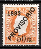 Portogallo 1893 Unif.94 */MH VF/F - Unused Stamps