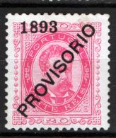 Portogallo 1893 Unif.89 */MH VF/F - Neufs