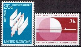 UNITED NATIONS # NEW YORK FROM 1977 STAMPWORLD 309-10* - New York -  VN Hauptquartier