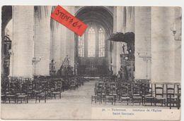 Tienen, Thienen, Tirlemont,interieur Van  Sint Germanus,Zeldzaam!!!!!! - Tienen