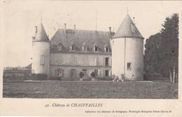 71 - CHAUFFAILLES - Le Château - France