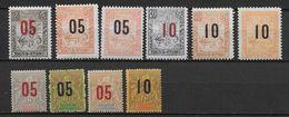 MADAGASCAR - 1912 - YT N°111/120 * CHARNIERE CORRECTE - COTE = 36.5 EUR. - Madagascar (1889-1960)