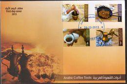 UAE, 2013, COFFEE, SET  ON LOCAL FDC - Drinks