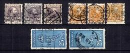 Danemark YT N° 46, N° 47 Et N° 192 Oblitérés. B/TB. A Saisir! - 1864-04 (Christian IX)