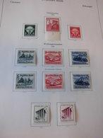 Sammlung Deutsches Reich 1938-1945 Komplett Ungebraucht 695-699, 716/29 (1443) - Nuovi