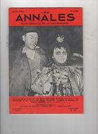 LES ANNALES 01 1966 - GEORGES WILSON ET EDWIGE FEUILLERE - ANDRE MAUROIS - ILLUSIONNISTES - SCANDALE PANAMA DE LESSEPS - 1950 - Oggi