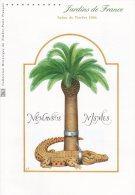 """"""" JARDINS DE FRANCE : NIMES """" Sur Document Philatélique Officiel De 2005 (4 Pages) N° YT BF 95. DPO - 2000-2009"""