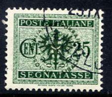 LJUBLJANA PROVINCE 1944 Postage Due 25 C. Used.  Michel Porto 4 - Occupation 1938-45