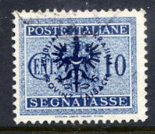 LJUBLJANA PROVINCE 1944 Postage Due 10 C. Used.  Michel Porto 2 - Occupation 1938-45