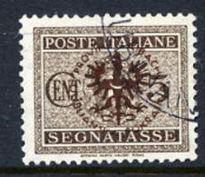 LJUBLJANA PROVINCE 1944 Postage Due 5 C. Used.  Michel Porto 1 - Occupation 1938-45