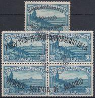 ESPAÑA 1938 Nº 789/90 USADO (EN EL Nº 789 NO SE APRECIA MATASELLOS) - 1931-Aujourd'hui: II. République - ....Juan Carlos I