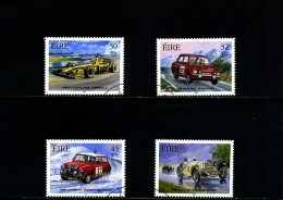 IRELAND/EIRE - 2001  IRISH  MOTORSPORT  SET  FINE USED - 1949-... Repubblica D'Irlanda
