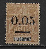 MADAGASCAR - 1902 - YT N° 59 II * CHARNIERE LEGERE - COTE = 180 EUR - Madagascar (1889-1960)