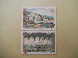 LA NATURE ET SES MERVEILLES SOURCES THERMALES (ETATS UNIS), TROMBES (TROPIQUES) - Old Paper