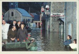 BELGIQUE - Carte N° 139 Du SOIR - Inondations En Haute-Meuse Le 30 Janvier 1995. - Catastrophes