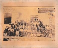 1887 - Photo Du Personnel D'une FABRIQUE DE CHAISES - Documents Historiques